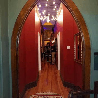 Charity Venue Hallway